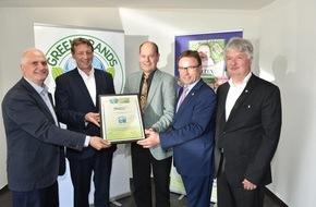 Green Brands: Erneute GREEN BRANDS Germany Auszeichnung für MOLTEX (FOTO)