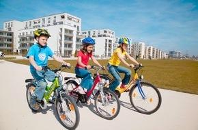 ADAC: Sicher Radfahren nicht kinderleicht / Erst Achtjährige lernen Gefahren im Straßenverkehr erkennen