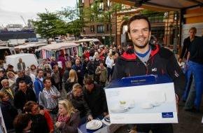 Villeroy & Boch AG: Voller Erfolg für Steffen Henssler und Villeroy & Boch bei Fischmarkt-Spendenaktion