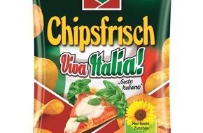 Intersnack Knabber-Gebäck GmbH & Co. KG: So sehen Sieger aus: funny-frisch Viva Italia! / Der Geschmack Italiens punktet bei Chips-Testern