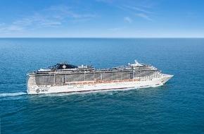 MSC Kreuzfahrten: Östliches Mittelmeer beliebteste MSC Cruises Destination 2014 der Schweizer