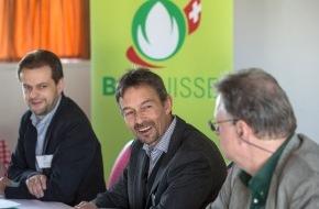 BIO SUISSE: Biofläche in der Schweiz wächst um 5'000 Hektaren - Biomarkt erstmals über 2 Milliarden Franken