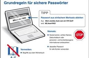 HPI Hasso-Plattner-Institut: Internetnutzer sollten Passwörter regelmäßig ändern / Tipps für starken Zugangsschutz vom Hasso-Plattner-Institut (HPI)