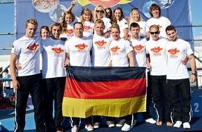 DLRG - Deutsche Lebens-Rettungs-Gesellschaft: Nationalmannschaft der Rettungsschwimmer wird in Großbritannien Europameister