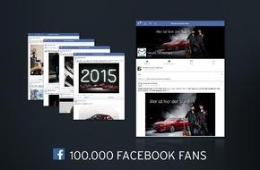 Mazda: 100.000 Facebook-Fans für Mazda Deutschland