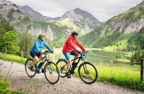 Bosch eBike Systems: Radreisen immer beliebter: Mit dem Leih-Pedelec auf die Schwäbische Alb und durch Südtirol / Bosch eBike Systems fördert zukunftsweisende Tourismus-Projekte