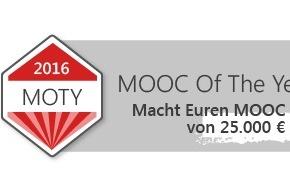 Fachhochschule Lübeck: Wettbewerb - Der MOOC of the Year / Jetzt anmelden und mitmachen: Bewerbungsfrist läuft noch bis zum 16. August 2015