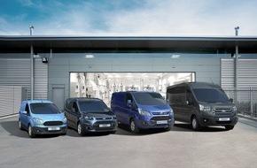 Ford-Werke GmbH: Bestes Zulassungsergebnis aller Zeiten: Ford Nutzfahrzeug-Geschäft wächst drittes Jahr in Folge