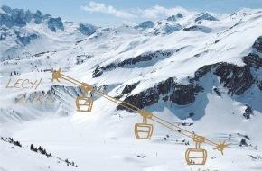 Lech-Zürs Tourismus GmbH: Der Auenfeldjet verbindet ab Dezember 2013 die Skigebiete von Lech Zürs und Warth-Schröcken - ANHÄNGE