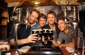 Diageo Guinness Continental Europe: Arthur Guinness Day: Revolverheld gibt einziges Clubkonzert in 2012