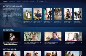 Sky Deutschland: Entertainment, Abenteuer & Reality Shows: Neuer Lifestyle-Bereich auf Sky Go