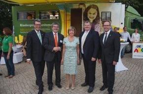 McDonald's Kinderhilfe Stiftung: Kindergesundheitsmobil zu Gast beim Bundespräsidenten