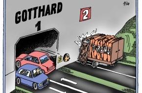 Alpen-Initiative: Gothard: Qu'on le veuille ou non, un 2e tunnel augmentera les capacités routières