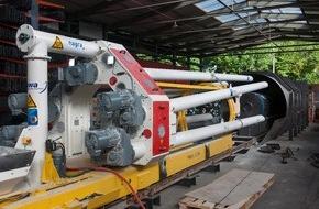 Nagra: Experiment zur Lagerung radioaktiver Abfälle / Im Felslabor findet ein Testlauf für das Tiefenlager statt