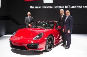 Porsche Schweiz AG: Porsche schafft weiterhin Arbeitsplätze und hat jetzt über 20.000 Beschäftigte / In den ersten drei Monaten des Jahres 2014 legten Auslieferungen, Umsatz und Ergebnis zu