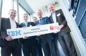 HPI Hasso-Plattner-Institut: HPI erhält Promotionsstipendien und neuen Hochleistungsrechner von IBM