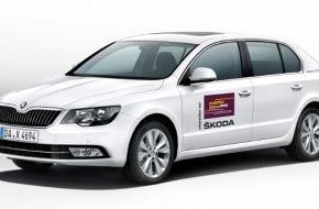 Skoda Auto Deutschland GmbH: SKODA präsentiert Jazzgrößen und Newcomer bei Palatia Jazz 2014