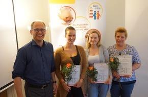 Stiftung SeeYou: Ein offenes Ohr für werdende Mütter: Drei Hamburger Frauenarztpraxen schließen erfolgreich Qualifizierung nach dem Modell Babylotse ab