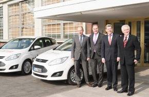Ford-Werke GmbH: Ford und TÜV Rheinland begründen Premium-Partnerschaft Elektromobilität (FOTO)