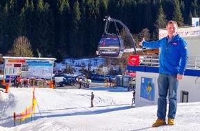 SkiWelt Wilder Kaiser-Brixental Marketing GmbH: 23 MIO & 960 Tonnen Stahl für die neue Hartkaiserbahn in der SkiWelt Ellmau