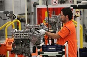 Ford-Werke GmbH: Neuer Meilenstein erreicht: 500.000ster 1,0-Liter-Benzinmotor läuft im Kölner Motorenwerk von Ford vom Band