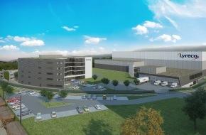 Lyreco Switzerland AG: Lyreco présente son tout nouveau projet de construction à Dintikon