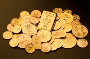 ReiseBank AG: ReiseBank: 2015 ein Umsatzplus von mehr als 30 Prozent im Edelmetallgeschäft / Im abgelaufenen Jahr hat die ReiseBank mehr als 30 Tonnen Gold bewegt