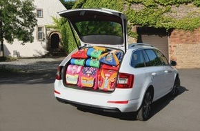 Skoda Auto Deutschland GmbH: Sach- und Packgeschichten: Das alles passt in die Combi-Raumwunder von SKODA
