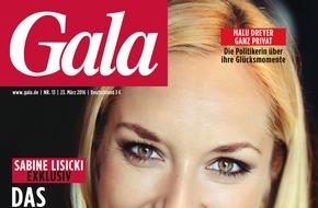 """Gruner+Jahr, Gala: Malu Dreyer: """"Ich bin ein heimlicher Klopp-Fan"""""""