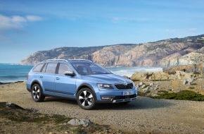 Skoda Auto Deutschland GmbH: Der neue SKODA Octavia Scout: Echter Abenteurer für Familie und Freizeit