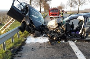 Unfall mit 2 PKW