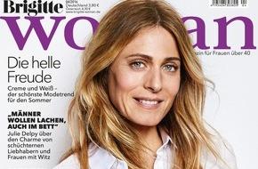 Gruner+Jahr, Brigitte Woman: Julie Delpy mag schüchterne Männer