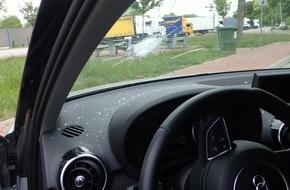 Verkehrsdirektion Mainz: POL-VDMZ: Mit dem Schrecken davongekommen