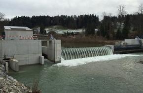BKW Energie AG: Inbetriebnahme: Wasserkraftwerk Gohlhaus am Netz