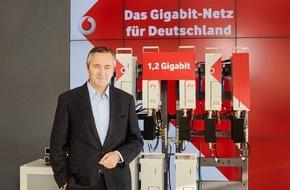 Vodafone GmbH: Auf dem Weg zu 5G: Vodafone zeigt Deutschlands erstes Gigabit Mobilfunknetz