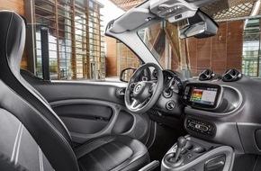smart: smart auf der IAA 2015 - Weltpremiere des smart fortwo cabrio