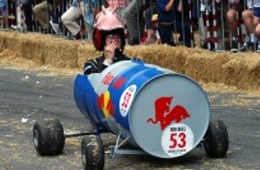 Red Bull AG: Formel-1-Aspiranten für das 2. Red Bull Caisses à Savon gesucht: