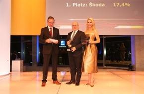 Skoda Auto Deutschland GmbH: Doppelerfolg für SKODA bei der Leserwahl ,Auto Trophy'