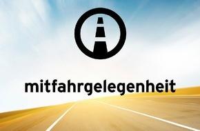 mitfahrgelegenheit.de: mitfahrgelegenheit integriert Uber-Angebot / Mobilität per App von Tür zu Tür