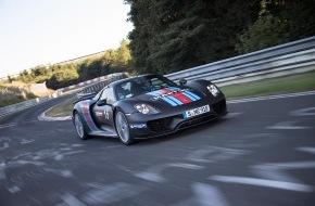 Porsche Schweiz AG: 918 Spyder krönt Weltpremiere mit Nürburgring-Rundenrekord / Supersportwagen mit Hybridantrieb fährt in 6:57 Minuten um die Nürburgring-Nordschleife (ANHANG)