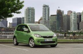 Skoda Auto Deutschland GmbH: SKODA Citigo ist erneut der wertstabilste Kleinstwagen Deutschlands