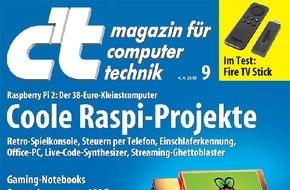 c't: c't: 17-Zoll-Notebooks mit leistungsstarken Grafikchips / Mobile Spielkisten