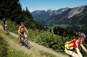 Montafon Tourismus: Das Montafon präsentiert sich sportlich: Europatreppe 4000 - Montafoner Treppencup und M3 Montafon Mountainbike Marathon