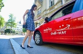 Mobility Carsharing Schweiz: Zwischen Zürich, Flughafen und Bern: Mobility bietet neu Einwegfahrten