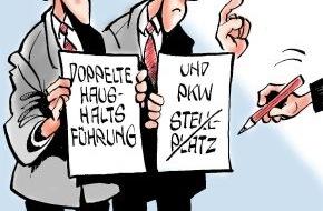 Bundesgeschäftsstelle Landesbausparkassen (LBS): Stellplatz gehört dazu / Steuerzahler durfte ihn zu doppelter Haushaltsführung zählen