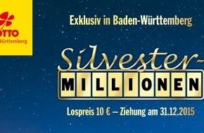 Staatliche Toto-Lotto GmbH Baden-Württemberg: Lotterie Silvester-Millionen startet in Baden-Württemberg