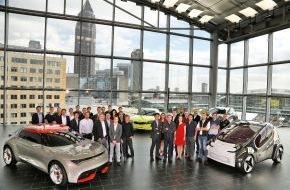 """KIA Motors Deutschland GmbH: Kia-Designteam ist """"Team of the Year"""" / Dreifach-Triumph von Kia Motors beim Designwettbewerb Automotive Brand Contest 2014"""