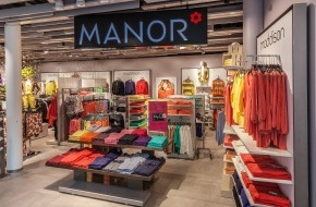 Manor AG: Manor triple de taille à Liestal - Inauguration du Grand Magasin au nouveau Bücheli Center