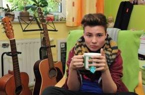 """SAT.1: Stimmdrama bei """"The Voice Kids"""": Richard (14) aus Leipzig: """"Ich hatte Angst, meine Stimme zu verlieren und nie wieder singen zu können!"""""""