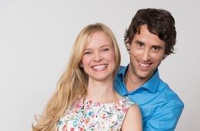 """ARD Das Erste: Das Erste / """"Sturm der Liebe"""": Magdalena Steinlein und Kai Albrecht stehen im Mittelpunkt der neuen Staffel"""
